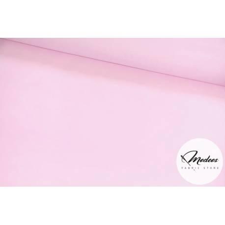 Tkanina bawełniana jasna różowa, materiał bawełna gładka