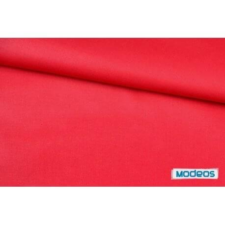 Gładka czerwona - tkanina bawełniana