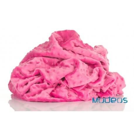 Polar minky Premium 380g - różowy Azalea Pink