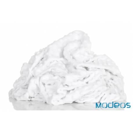 Polar minky Premium 380g, biały White materiał