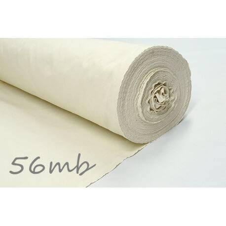 Tkanina surowa 145g/m2, belka 56m - surówka bawełniana