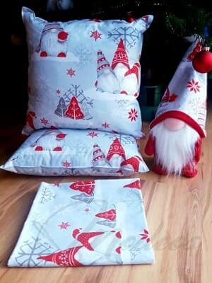 tkanina świąteczna